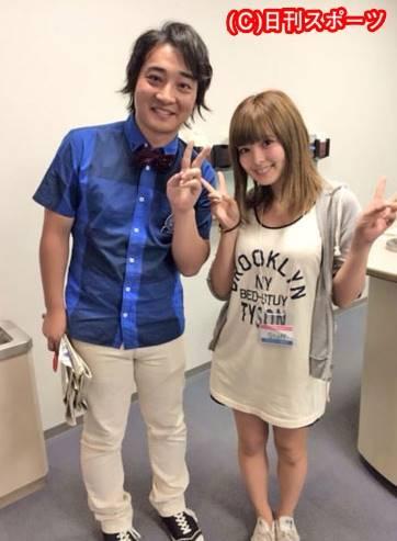 福島競馬場で出会ったジャンポケ斉藤と瀬戸サオリ