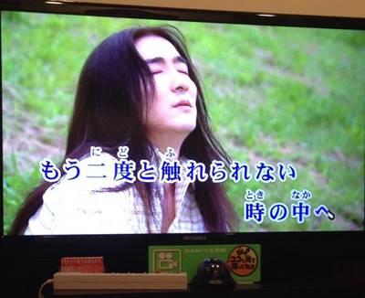 池田鉄洋に似てるカラオケ映像②