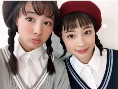 大友花恋と広瀬すずのそっくり画像③