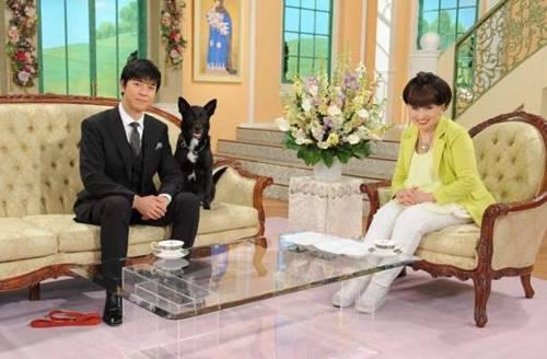 徹子の部屋に出演した上川隆也とノワール