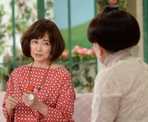 徹子の部屋に出演した風吹ジュン(2017年)