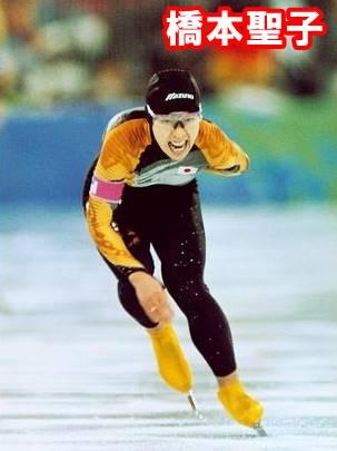 橋本聖子のスケート現役時代
