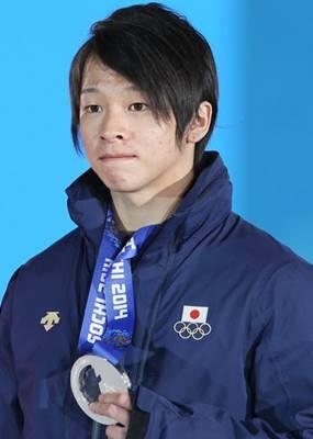 ソチオリンピックで銀メダルを獲得した平野歩夢