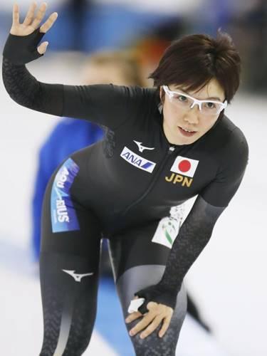 日本女子スピードスケートの小平奈緒