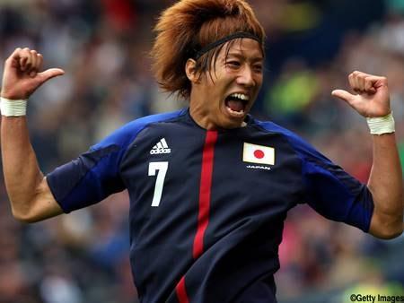 元サッカー日本代表の大津祐樹