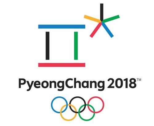 2018年・平昌オリンピックのロゴ画像