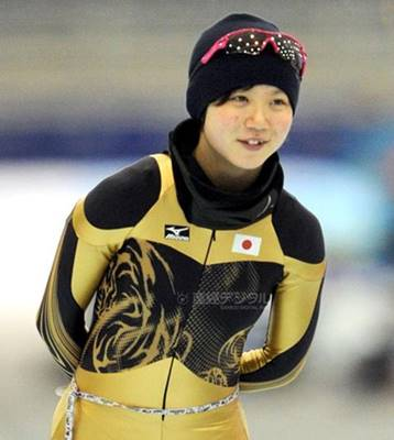 スピードスケート・高木美帆選手の可愛い画像①