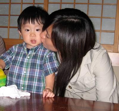 竹内智香と子供の2ショット画像②