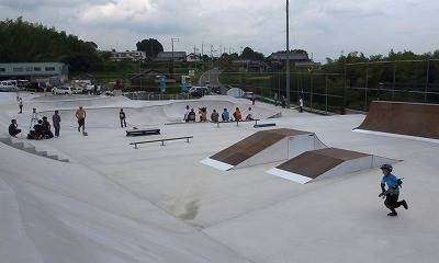 平岡卓が作ったスケートパーク①