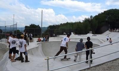平岡卓が作ったスケートパーク②