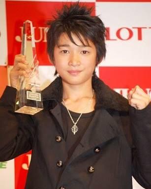 ジュノン・スーパーボーイ・コンテストでグランプリに輝いた時の竹内寿