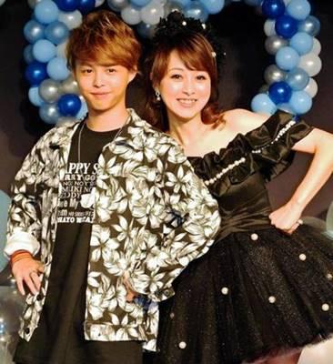 渡辺美奈代と息子の画像