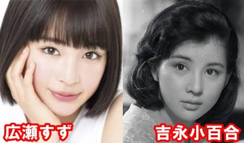 吉永小百合の若い頃が広瀬すずやサナに激似でかわいい!?画像と