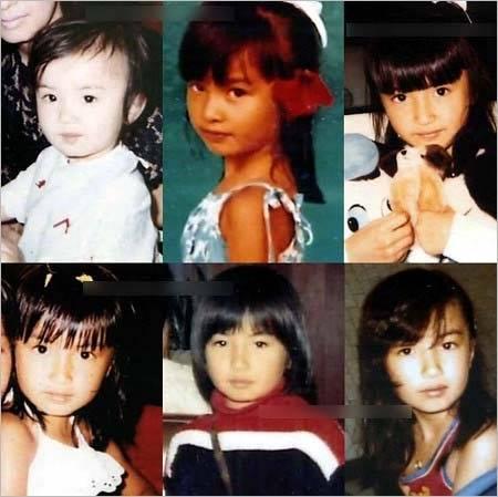 平子理沙の子供の頃の画像