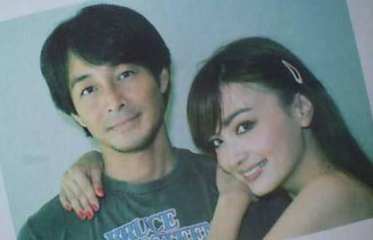 吉田栄作と平子理沙の画像
